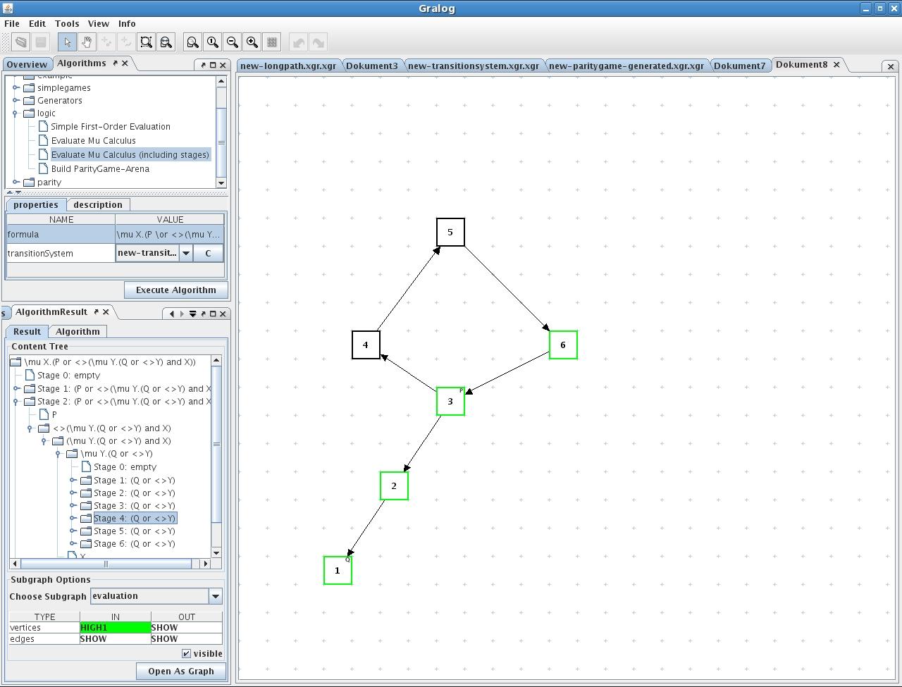 Gralog Graphs Algorithms Logic And Games Diagram